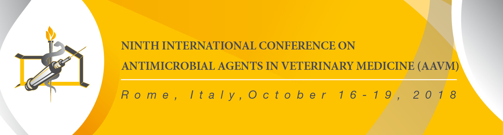 We Are Currently Preparing The Ninth International Conference On Antimicrobial Agents In Veterinary Medicine AAVM To Be Held Rome Italy